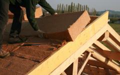 Isolant naturel pour la toiture avec Alpha Combles
